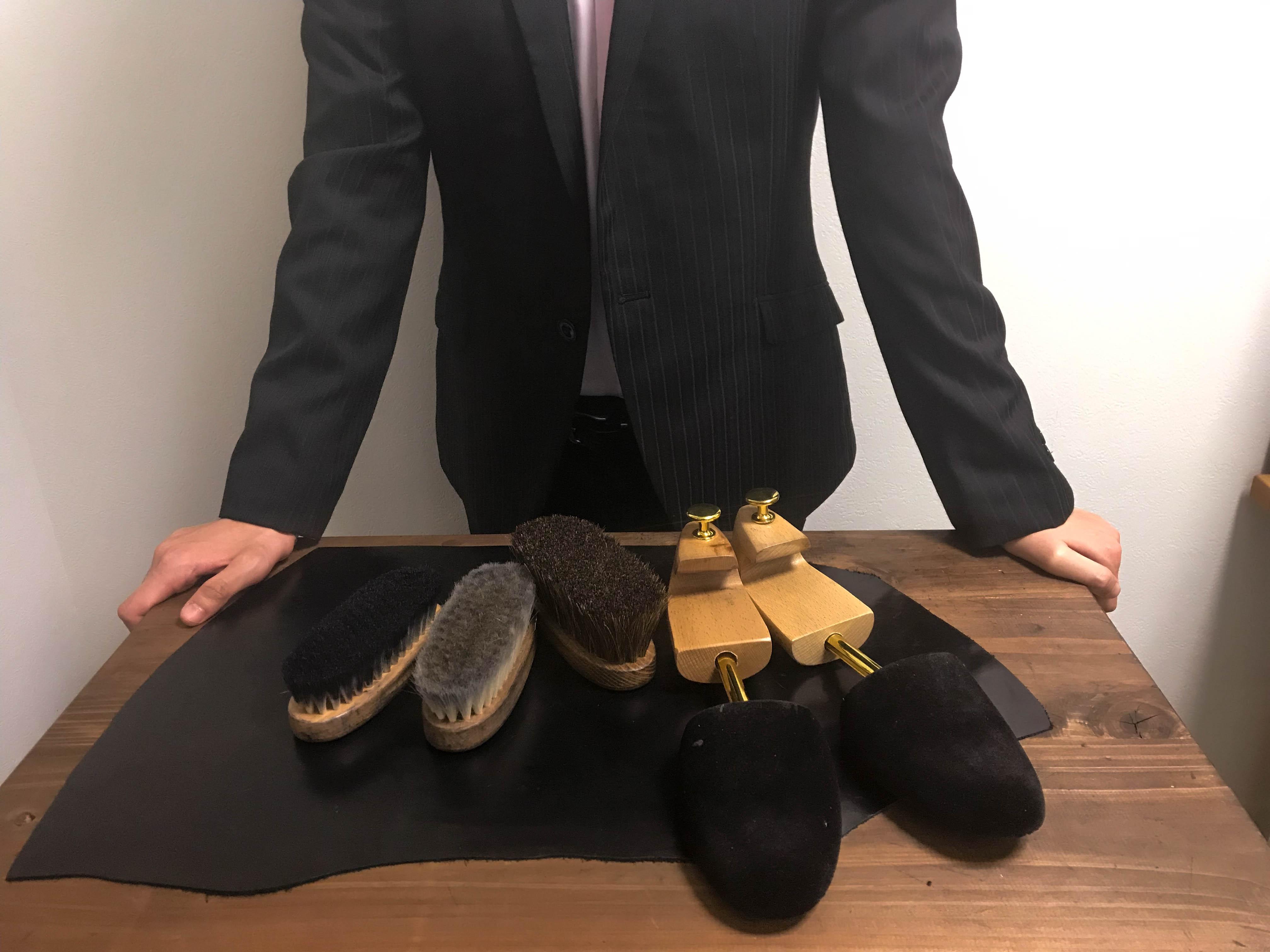【初めて買う靴ブラシ】安物で良いと思って買わない事!